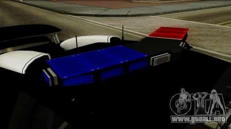 Bugatti Veyron 16.4 2013 Dubai Police para GTA San Andreas vista hacia atrás