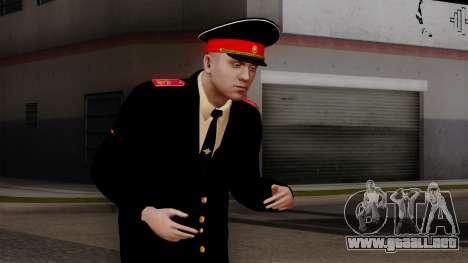 Vice-Sargento Kazan Suvorov de la Escuela milita para GTA San Andreas