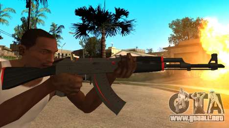 AK-47 de la Línea Roja de CS:GO para GTA San Andreas