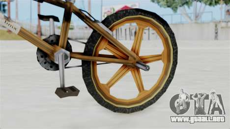 Retro BMX from Bully para la visión correcta GTA San Andreas