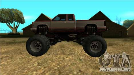 New Yosemite v2 Monster para GTA San Andreas interior