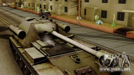 SU-101 122mm from World of Tanks para la visión correcta GTA San Andreas