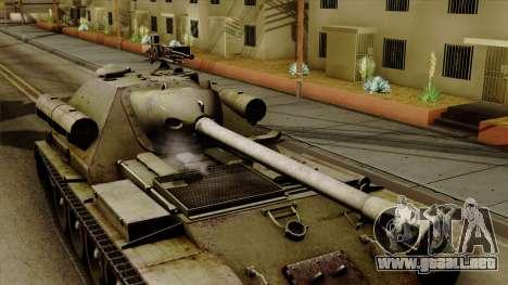 SU-101 122mm from World of Tanks para la visión correcta GTA San Andreas