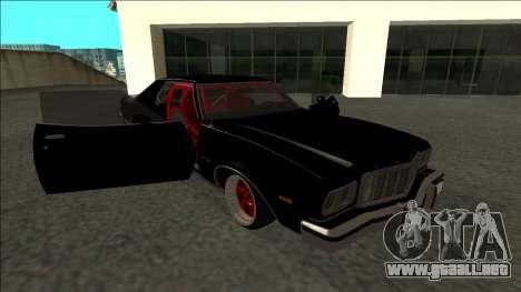 Ford Gran Torino Drift para vista lateral GTA San Andreas