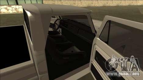 Chevrolet C10 Drift para la visión correcta GTA San Andreas