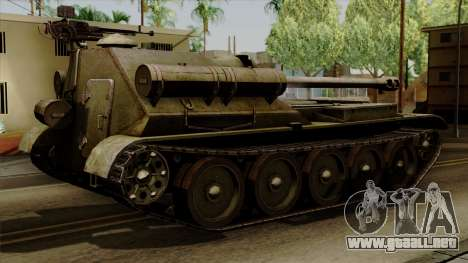 SU-101 122mm from World of Tanks para GTA San Andreas left