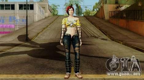 Dead Or Alive 5 Last Round Mila para GTA San Andreas segunda pantalla
