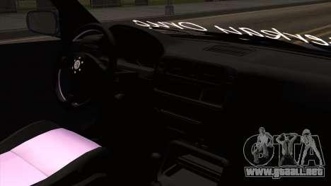 Honda Civic Sedan B. O. De La Construcción para la visión correcta GTA San Andreas