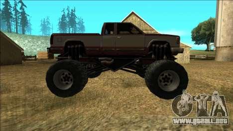 New Yosemite v2 Monster para visión interna GTA San Andreas