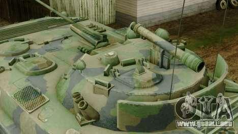 CoD 4 MW 2 BMP-2 Woodland para la visión correcta GTA San Andreas