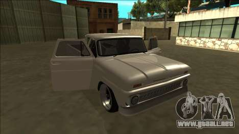 Chevrolet C10 Drift para la vista superior GTA San Andreas