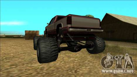 New Yosemite v2 Monster para vista inferior GTA San Andreas