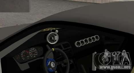 Nissan Silvia S14 JDM v0.1 para visión interna GTA San Andreas