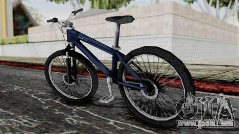 Mountain Bike from Bully para GTA San Andreas left