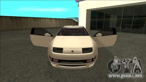 Nissan 300ZX Drift Monster Energy para visión interna GTA San Andreas