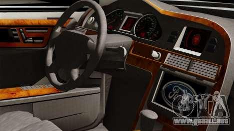 Ford Mondeo para la visión correcta GTA San Andreas