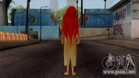 Ariel Mermaid para GTA San Andreas tercera pantalla