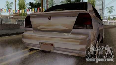 GTA 5 Declasse Asea para vista lateral GTA San Andreas