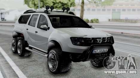Dacia Duster Terranger 6x6 para GTA San Andreas