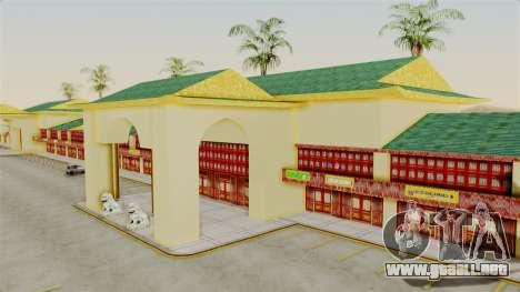 LV China Mall v2 para GTA San Andreas tercera pantalla