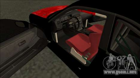 Nissan Skyline R33 Monster Energy para la visión correcta GTA San Andreas