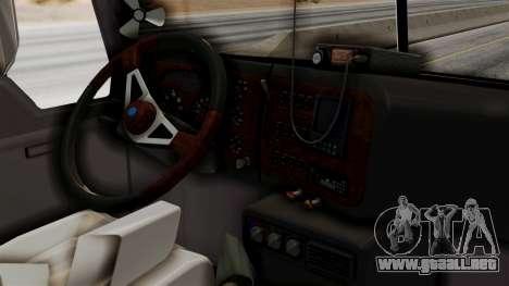 Mack Vision Trailer v2 para la visión correcta GTA San Andreas