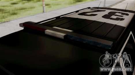 Sheriff Granger Police GTA 5 para la visión correcta GTA San Andreas