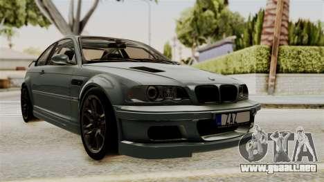 BMW M3 E46 GTR 2005 Stock para GTA San Andreas