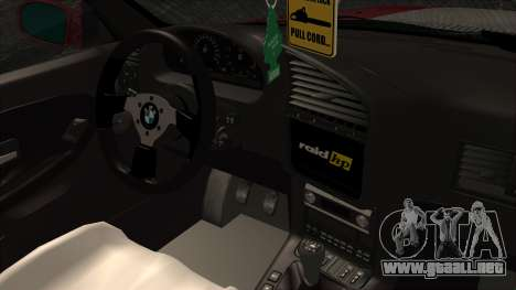 BMW M3 E36 Strike para la visión correcta GTA San Andreas