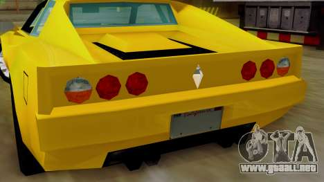 Cheetah from Vice City Stories IVF para visión interna GTA San Andreas