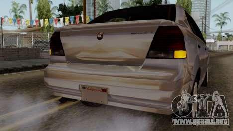 GTA 5 Declasse Asea para la vista superior GTA San Andreas