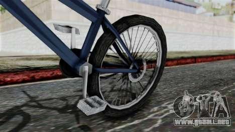 Mountain Bike from Bully para la visión correcta GTA San Andreas