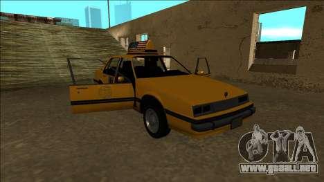 Willard Taxi para el motor de GTA San Andreas