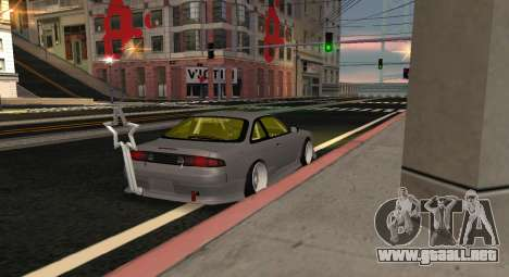 Nissan Silvia S14 JDM v0.1 para GTA San Andreas left