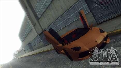 ENB Series Visión Clara v1.0 para GTA San Andreas segunda pantalla