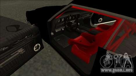 Ford Gran Torino Drift para la visión correcta GTA San Andreas
