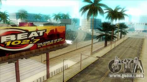 ENB Series Visión Clara v1.0 para GTA San Andreas quinta pantalla