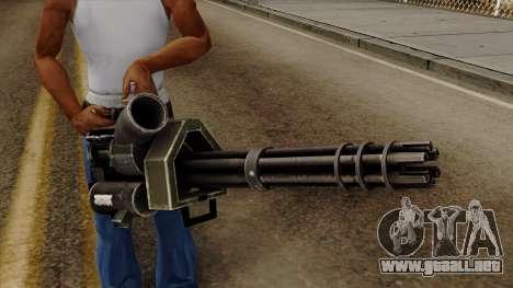 Gatling para GTA San Andreas tercera pantalla