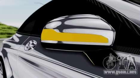 Brabus 850 Chrome para la vista superior GTA San Andreas