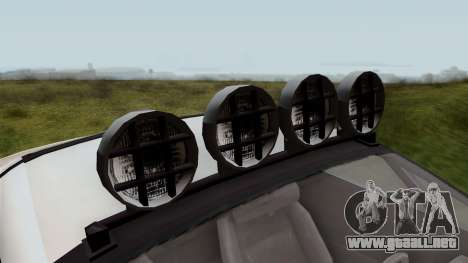 GTA 5 Coil Brawler IVF para GTA San Andreas vista hacia atrás