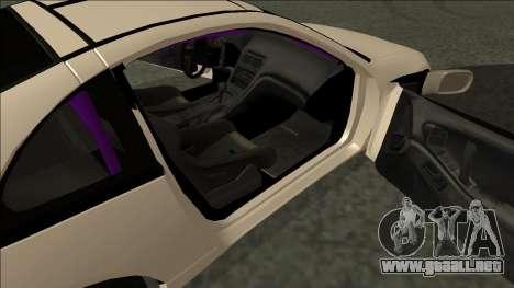 Nissan 300ZX Drift Monster Energy para GTA San Andreas vista posterior izquierda