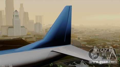 AT-400 Air India para GTA San Andreas vista posterior izquierda