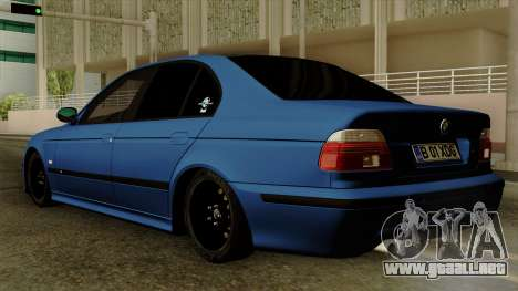 BMW M5 E39 Bucharest para GTA San Andreas left