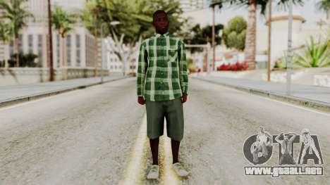 GTA 5 Family Member 2 para GTA San Andreas segunda pantalla