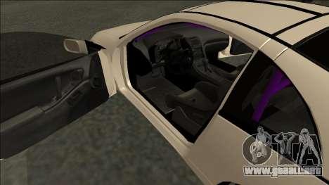 Nissan 300ZX Drift Monster Energy para la visión correcta GTA San Andreas