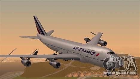 Boeing 747 Air France para GTA San Andreas