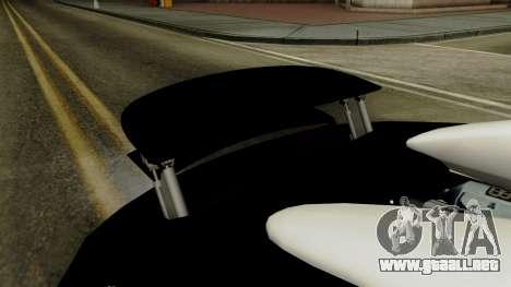 Bugatti Veyron 16.4 2013 Dubai Police para visión interna GTA San Andreas