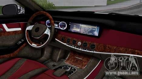 Brabus 850 Chrome para la visión correcta GTA San Andreas