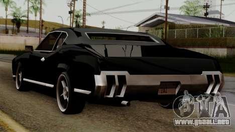 Muscle-Sabre Beta v1 para GTA San Andreas left