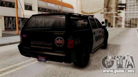 Sheriff Granger Police GTA 5 para GTA San Andreas left